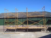 steel stage scaffold