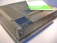 Collectable Sony Betamax PAL SL-C7 UB Video Recorder (WH_2684)