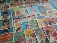 Princess Tina Vintage Retro Comic Magazine Bundle.