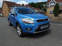 THIS WEEK ONLY 09 FORD KUGA ZETEC 2.0 TDCI 4 X 4 , FULL SERVICE HISTORY, 2 KEYS, 98,500 MILES
