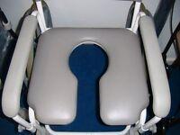 Aqua Master Chiltern Invadex Shower Commode Wheel Chair