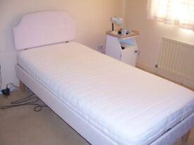 3' adjustable bed