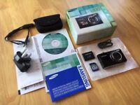 Samsung PL Series PL100 12.2MP Digital Camera - Black - Used - 4GB Card Bundle