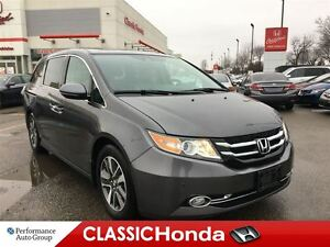 2015 Honda Odyssey TOURING | NAVI | REAR DVD | LEATHER | REAR CA