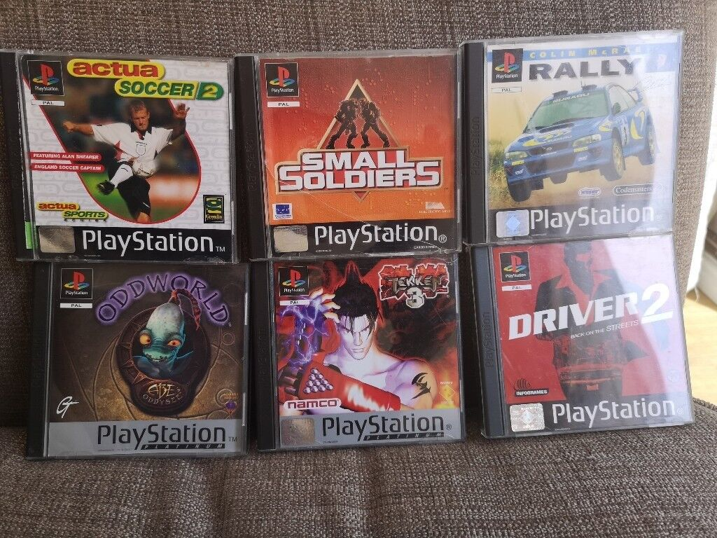 PlayStation 1 games job lotin Cardiff - For sale I have a job lot of playstation 1 games in a super condition see pics I can post if required
