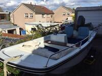 Dell quay dory 13' fishing boat
