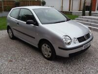 A SUPERBLY PRESENTED VOLKSWAGEN POLO 1.4 TWIST AUTOMATIC, JUST 51,000 MILES, FULL SERVICE HISTORY