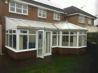 P shape upvc conservatory(professionally dismantled) +MORE CONSERVATORIES!!!