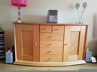 Pre-assembled Living Room Sideboard- excellent condition and quality