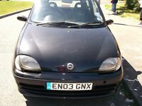 fiat seicento drives perfect bargin/today need space on drive