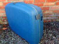 Samsonite Oyster Blue Hard Plastic suitcase