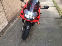Suzuki GSXR 600 Last of the SRAD 2000 Model Year Great Winter Hack or Cheap First Bike