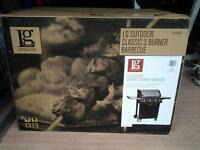 LG CLASSIC OUTDOOR 3 BURNER BARBECUE