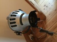 Vintage antique industrial stage film light floor lamp