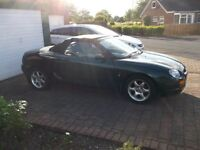 1996 MGF FOR SALE 11 MONTHS MOT