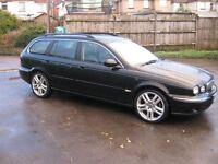 2006 Jaguar X-Type Diesel SE Estate.Jaguar service history.Fully loaded.P/X welcome.