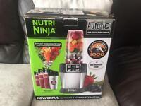 A Nutri Ninja BL480UK 1000W Personal Blender with Auto-iQ
