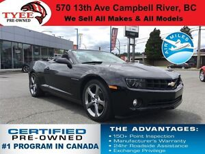2013 Chevrolet Camaro LT Convertible RS Package Tap Shift