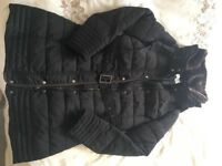 Ladies long firetrap winter coat size 12