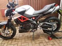 Aprilia Shiver 900 naked motorbike