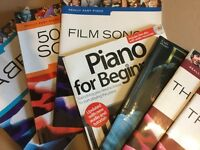 7 piano song books