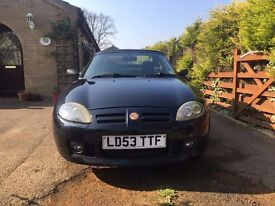 2003 MG TF 115 COOL BLUE ANTHRACITE