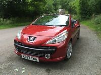 (Readvertised) Peugeot 207cc GT Immaculate Car for the Summer