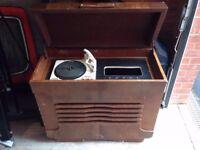 Barn Find Garrard 210 Record Player 1960s Stentorian Speaker Restoration Project
