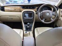 Jaguar x type 2.0diesel 1 Year MOT 2006 SAT NAV, 17 Alloy , full leather