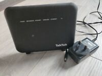 Selliing TalkTalk super router HG653. Fully functioning and can be used a wifi repeater