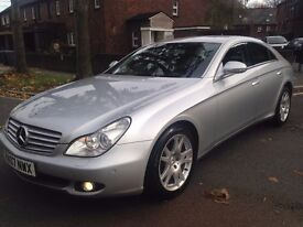 Mercedes-Benz CLS 320 CDI 7G-Tronic 2007 56098 MILES FULL SERVICE HISTORY HPI CLEAR P/X WELCOME