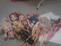 Massive doll bundle- perfect for resale- barbie, Disney, Marvel and more