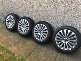 """Ford Focus 17"""" Wheels c/w Tyres"""
