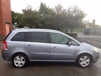 VAUXHALL ZAFIRA 1.9 CDTI ACTIVE 7 SEATER,HPI CLEAR,2 OWNER,2 KEY,ALLOYS,PRIVACY GLASS,A/C,FULL S/H