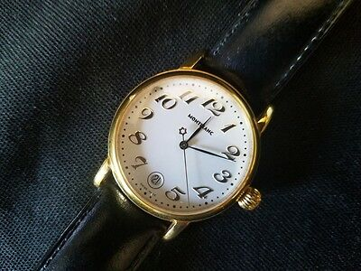 Montblanc Meisterstuck Watch With Original Leather Band