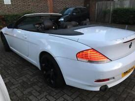 BMW 630i convertible