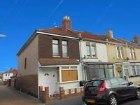 2 bed end of terrace house in Elson, Gosport with garden, close to schools, shops and bus routes