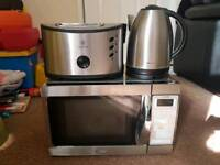 Microwave kettle and toaster