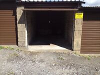 Lock-up garage available on secure site for storage of goods or vehicle. New door.