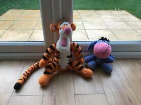 Tiger & Eeyore Knitted