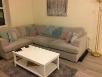 Corner sofa, excellent condition + FREE DELIVERY
