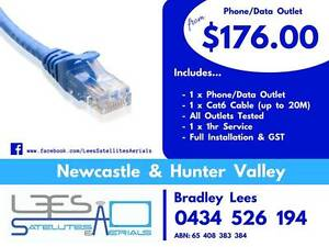 Phone/Data Outlet $176.00 Mayfield Launceston Area Preview