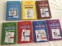 7 Diary of a Wimpy Kid Books By Jeff Kinney