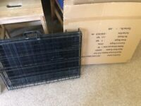 Dog crate small 60cm x 44cm