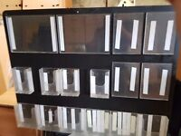 16 slot wall mounted card flyer holder
