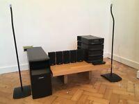 Bose Acoustimass 15 Series II + Cyrus AV8 surround sound system of