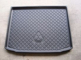 Mitsubishi ASX Boot Liner Fitted Black Floor Mat Protector