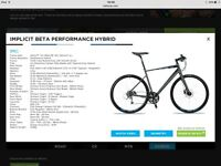 Hybrid performance bicycle