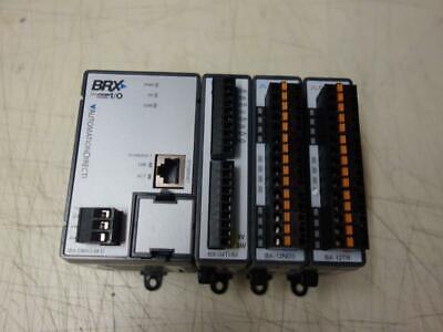 Host Automation Direct Brx Plc Bx-dmio-m-d Bx-04thm Bx-12nd3 Bx-12tr New