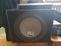 Fli 1000w sub and phillips Amp